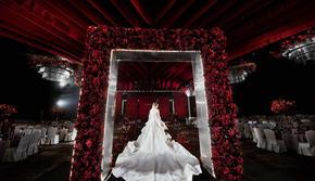 红玫瑰高端大气典雅精致婚礼