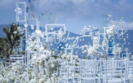 创意水台婚礼 | 定格幸福的瞬间