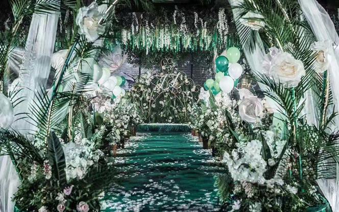 【翡】 森林风绿色系婚礼
