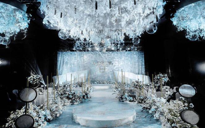 【匠心婚礼】高端白蓝色婚礼