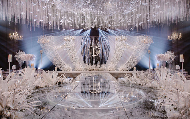 【ALAN婚礼策划】白色韩式清新欧式性价网红婚礼