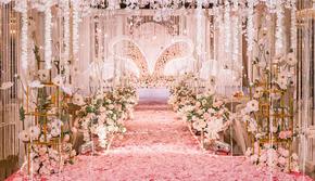双11预约到店赠价值1800跟妆⊙粉色浪漫婚礼