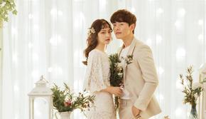 【人气爆款】韩国经典新娘结婚照