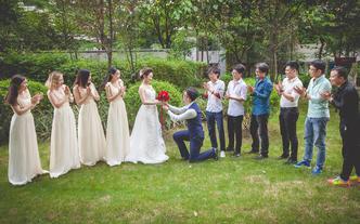 婚礼下午场摄影单机位摄影师陈豪总监拍摄档