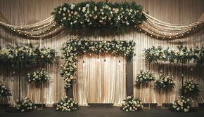 西式清新浪漫婚礼风格