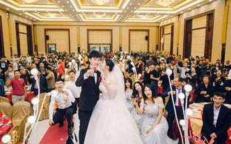 单机位全程跟拍个性小清新婚礼摄影师