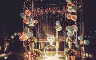 【喜尔婚礼】求婚/流程设计/场地布置/全程记录