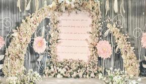 偲蕊婚礼【Eternal】浅粉色 (四大/婚纱)