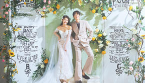 【仙女必拍】内景爆款婚纱照