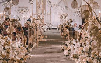 雅琼婚礼   香槟色几何   长街十里