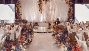 【洛维思·印象】明亮橙色温暖色系定制婚礼