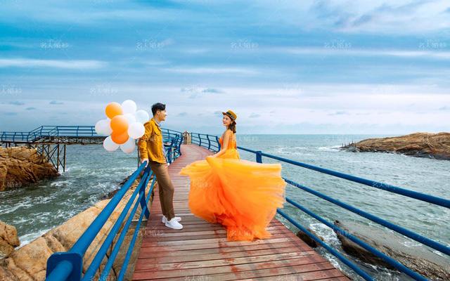名人婚纱【那琴半岛】阳光海滩+轻旅抓拍
