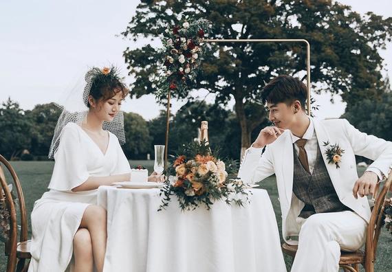 【女神婚纱照】自然清新/梦幻森系/底片全送