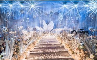 婚礼季精选❤大气吊顶/花艺设计效果满分/个性婚礼