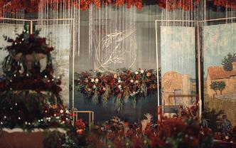 【QueenMarry】超复古油画风格定制婚礼