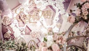 万元全包唯美户外婚礼,布景+人员+四大金刚一步到