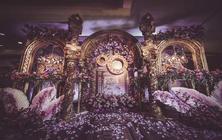 【木槿花篱】醉人心魄的紫色系婚礼
