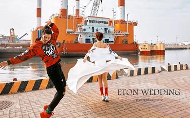 【高雄】驳二艺术特区|驳船码头|创新×前卫×婚紗