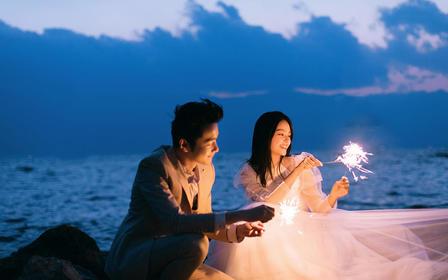 【爆款旅拍】浪漫夜景+环洱海任意拍摄+古城任意