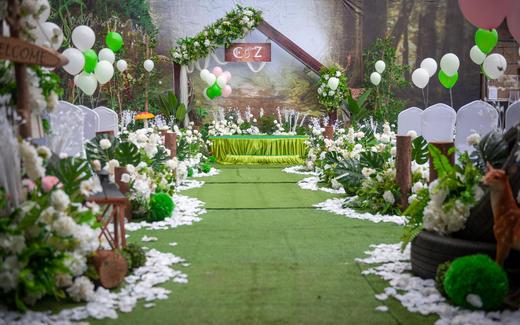 【嫁日新娘婚礼】户外草坪婚礼