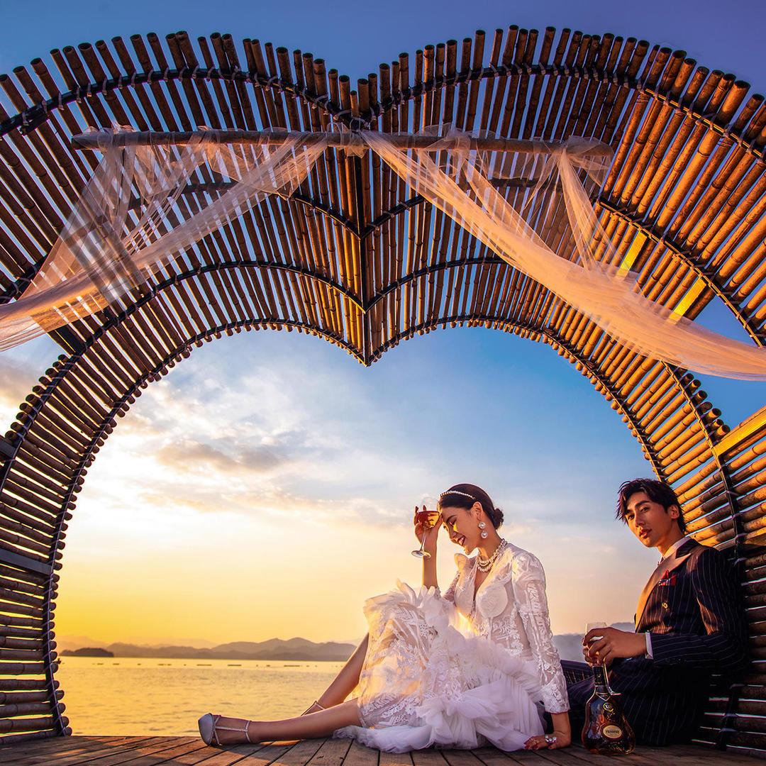 杭州千岛湖旅拍四天三夜