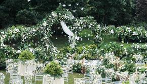 【蓝戒指婚庆】--大气森系户外婚礼