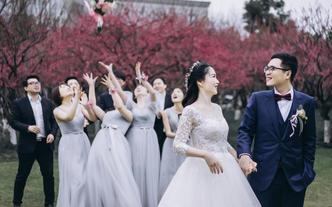 首席双机位婚礼摄影 原片700 超精修90
