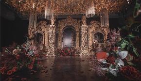 金色欧式婚礼 城堡风婚礼