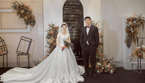【红馆婚礼】香槟白定制婚礼