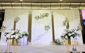 暮光-白绿森系婚礼,简单,浪漫,清新