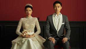 女王范【皇冠】系列·50年经典传承韩式婚纱照