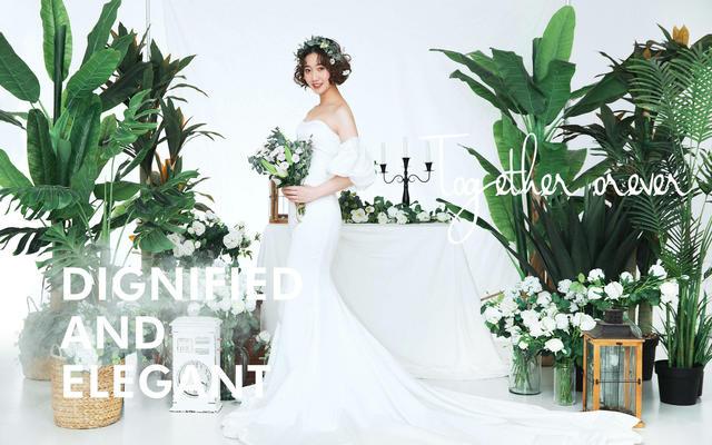 【喜颜纪婚纱摄影】杨女士婚纱照·100%真实客片