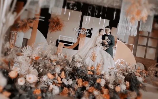 轻奢档婚礼电影拍摄三机位