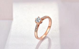 DiEvo永恒之瞳【仙境·18K金钻石戒指】