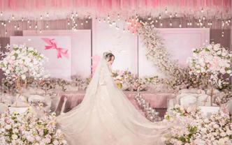【微致婚礼策划】梦幻粉色少女心--《爱的礼物》