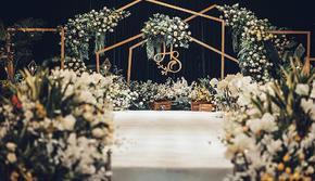 【颜汐婚礼】防疫在即 | 绿色简约婚礼+婚车装饰