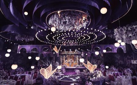 【美瑞】《一千零二夜》雾紫色高端私人定制婚礼