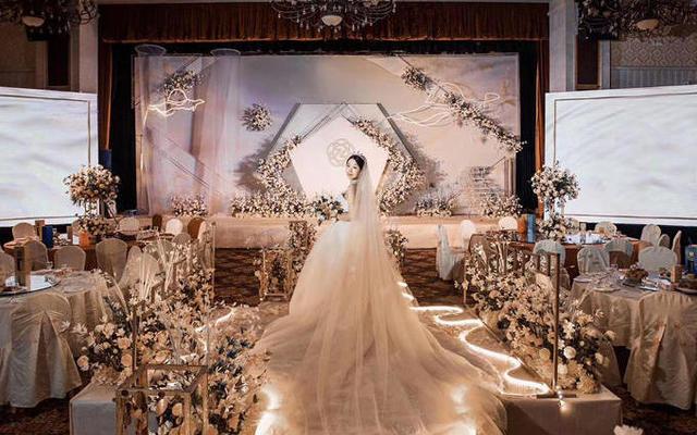 香槟色小预算定制主题婚礼