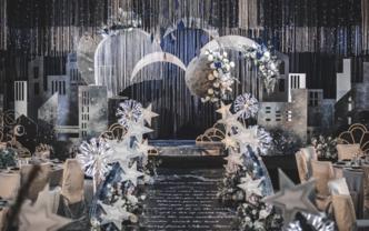 【玫芮记婚礼】小众星空 | 绅士蓝+神秘银