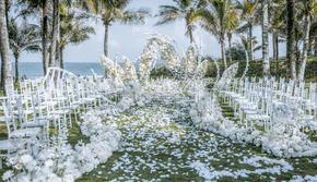 一價全包,婚禮布置場地攝影攝像跟妝主持婚紗禮服