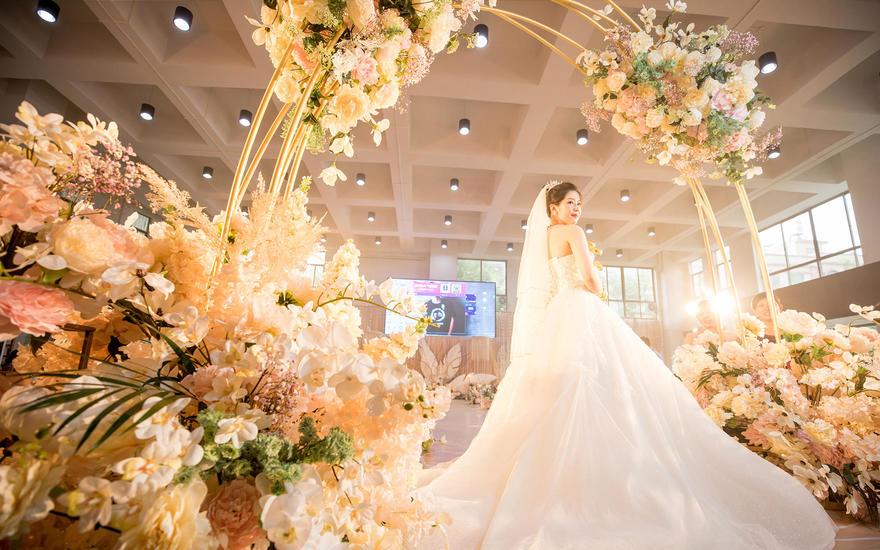 《品诺婚礼》•传统婚礼仪式,不一样的婚礼布置