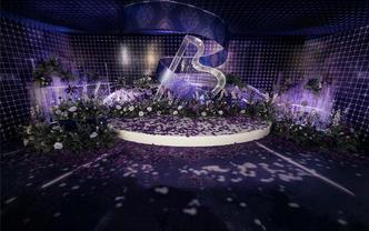 年度流行色MIX音乐主题婚礼