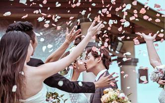 海口婚礼摄影婚礼跟拍+化妆师全程跟妆
