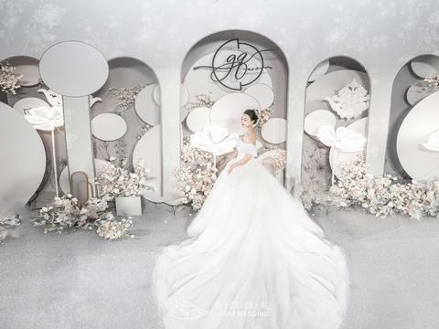 【喜尔婚礼】金溪山庄白色浪漫婚礼