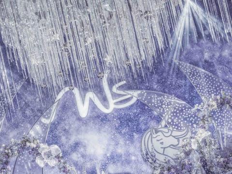 皇嘉主意-晶莹剔透的水蓝色星空(包含四大金刚)
