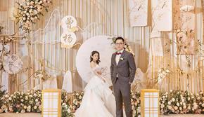 香槟色新中式婚礼-与君同
