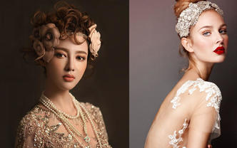 JIAOJIAO精选婚纱+跟妆套系