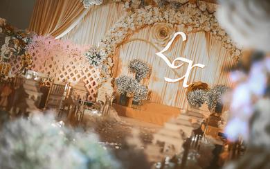 杭州婚蜜   繁华香槟色浪漫婚礼