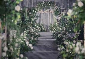 【维西婚礼】l绿色小清新婚礼《 荼  白 》