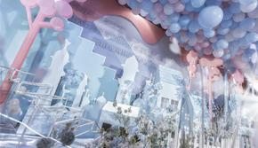 小型网红生日宴 宝宝宴 梦公园婚礼作品